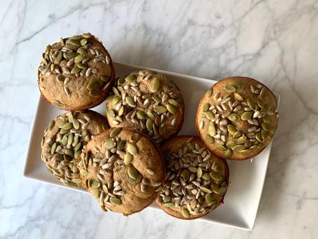 Maca Vanilla Muffins