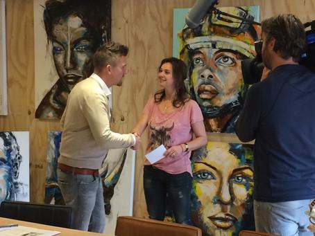 TV programma 'De Wensboom' met Johnny de Mol