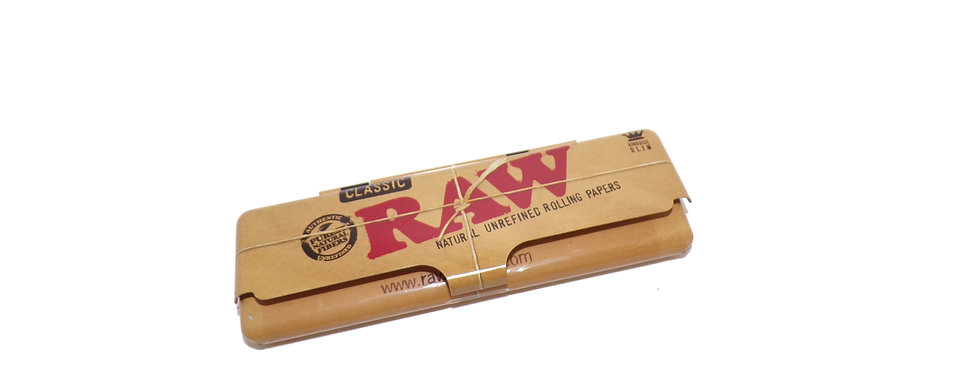 Raw King Size Rolling Paper Tin