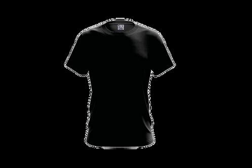 Camiseta Básica Preta - 6 peças