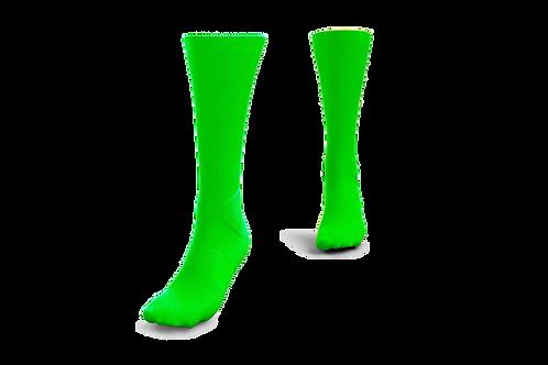 Meião Verde Flúor - 10 pares