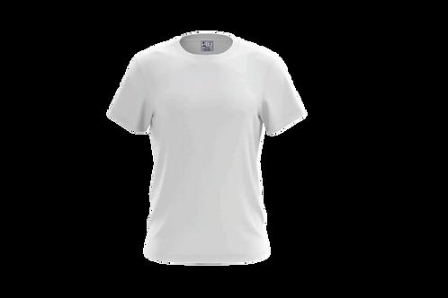 Camiseta Básica Branca - 6 peças