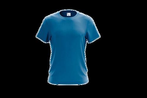 Camiseta Básica  Azul Cobalto - 6 peças