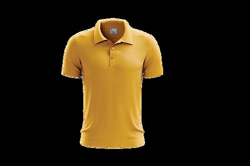 Camisa Polo Masculina Dourada - 6 peças