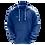 Thumbnail: Blusa de Chimpa com capuz -  Royal - 10 peças