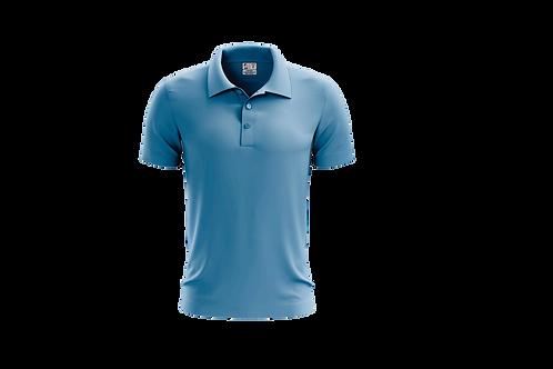Camisa Polo Masculina Celeste - 6 peças