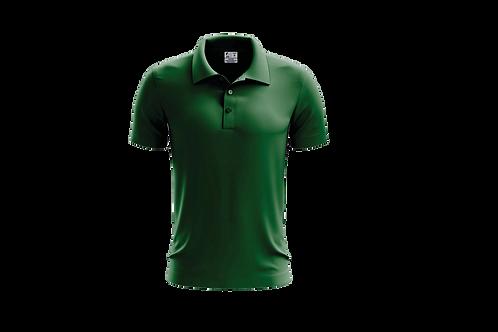 Camisa Polo Masculina Verde Bandeira - 6 peças