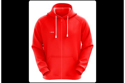 Blusa de Chimpa com capuz -  Vermelha - 10 peças
