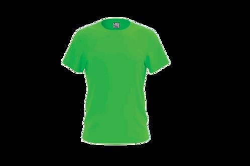 Camiseta Básica  Verde Limão - 6 peças