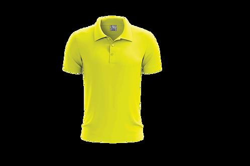 Camisa Polo Masculina Amarelo Canário - 6 peças