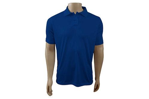 Camisa Polo Masculina - Azul Royal - Dry-Fit - 6 peças
