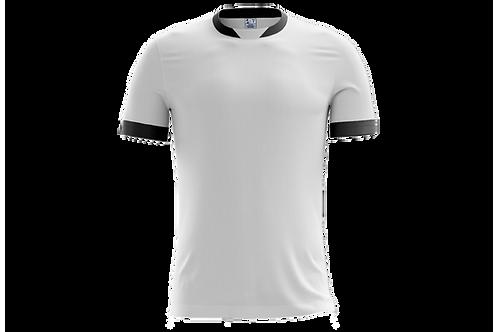 Camiseta Branca e Cinza Chumbo - 6 peças