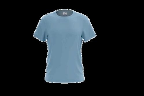 Camiseta Básica Celeste - 6 peças