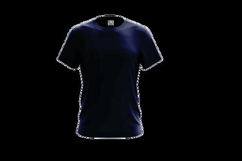 Camiseta Básica Azul Marinho - 6 peças