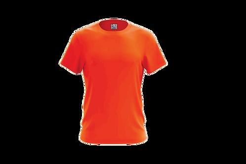 Camiseta Básica - Laranja Flúor
