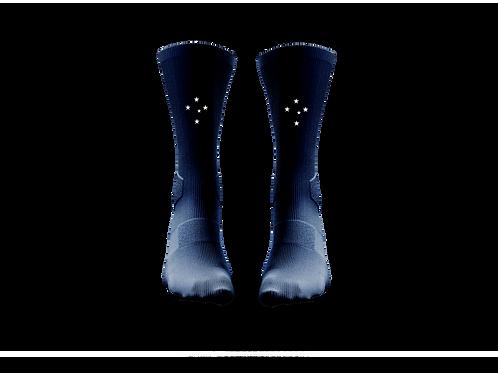 Meião azul