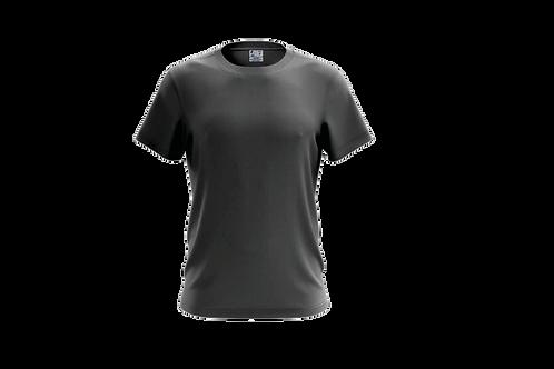 Camiseta Básica Cinza Chumbo - 6 peças