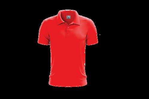 Camisa Polo Masculina Vermelha - 6 peças