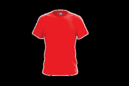 Camiseta Básica Vermelha - 6 peças