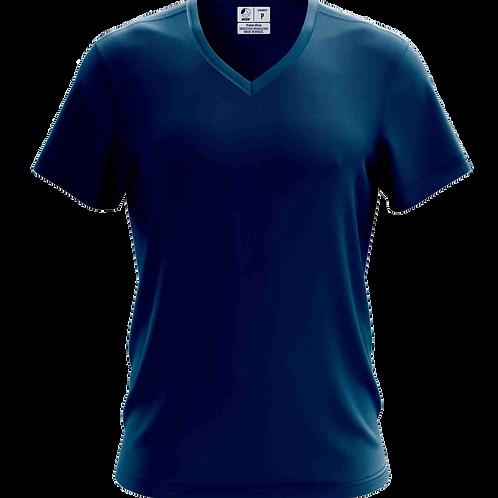 Camiseta Gola V Azul Royal - 6 peças