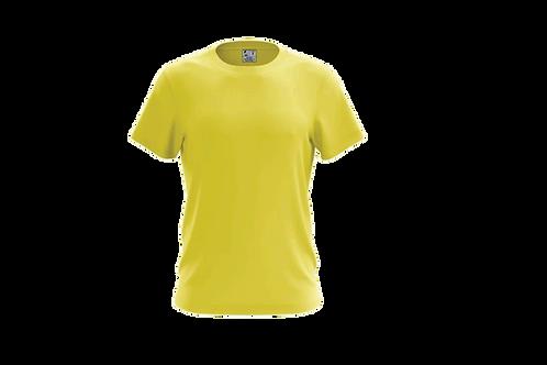 Camiseta Básica Amarelo Canário - 6 peças