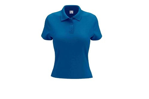 Camisa Polo Feminina Azul Cobalto - 6 peças