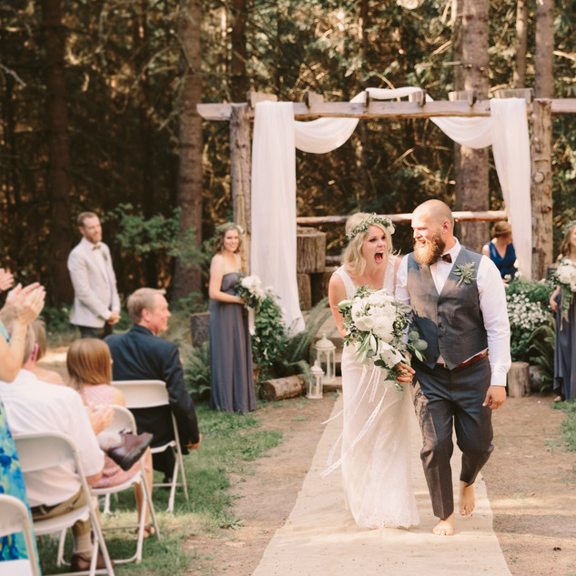 Meredith & Will | Mololla Oregon | The Home Place Farm Wedding