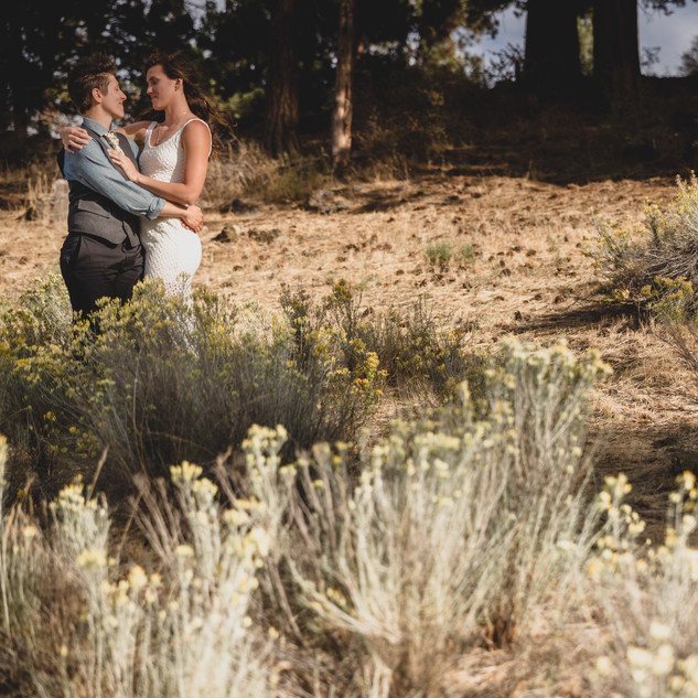 Emily & Rachael | Bend Oregon | Outdoor Park Wedding