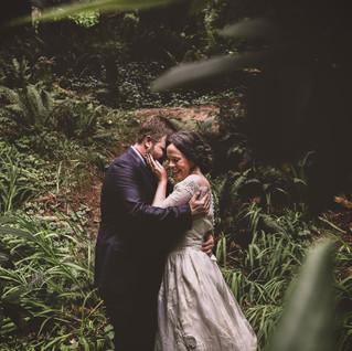 Jason & Lynn   Eureka California   Redwoods Wedding