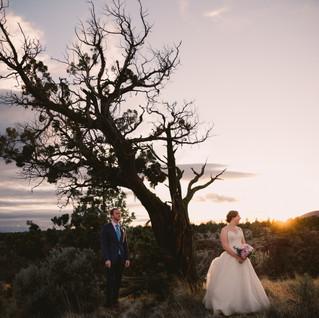 John & Candra   Bend Oregon   Deschutes River Gorge Wedding