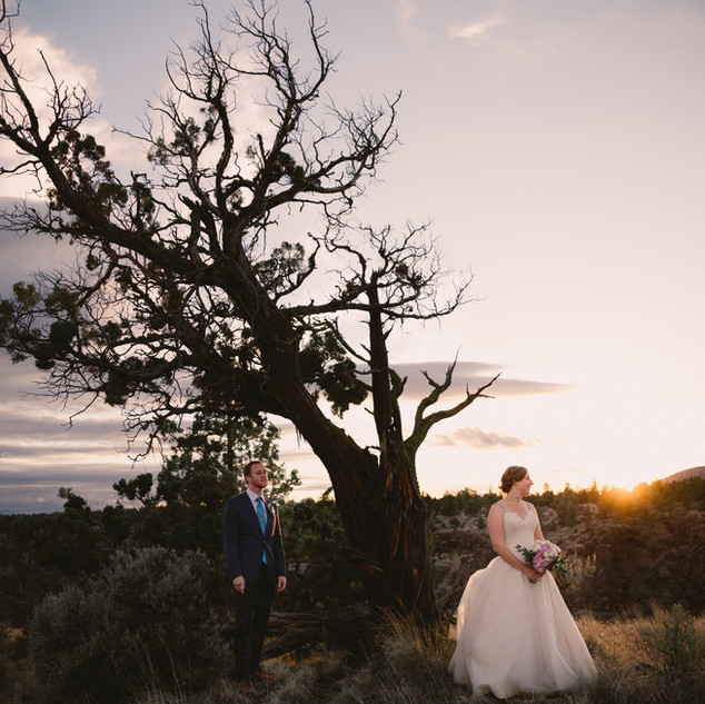 John & Candra | Bend Oregon | Deschutes River Gorge Wedding