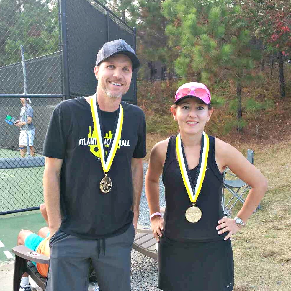 Mixed Doubles 4.5 Gold