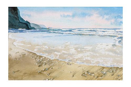 Waves Porthtowan