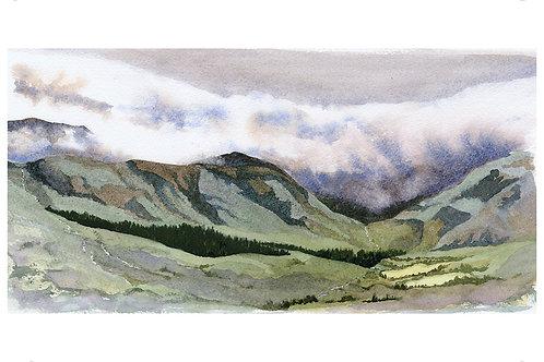 Above Glen Garrif