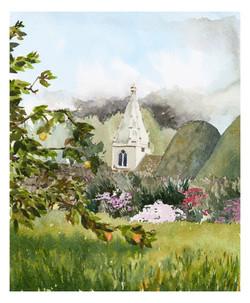 Great Chalfield church