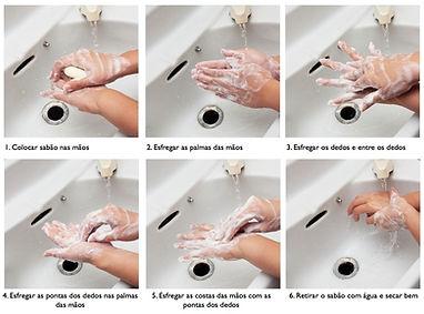 Higienização das Mãos - Treinamentos e Palestras SIPAT