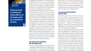 Article  « Un service achats tout neuf à Chilly-Mazarin »