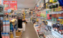 Paints and other products at our Central Coast store