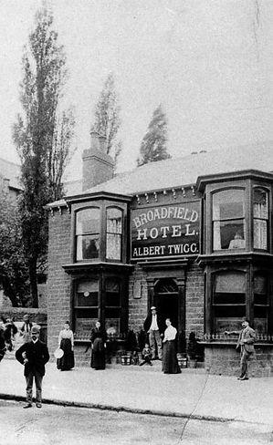 The Broadfield in 1890s