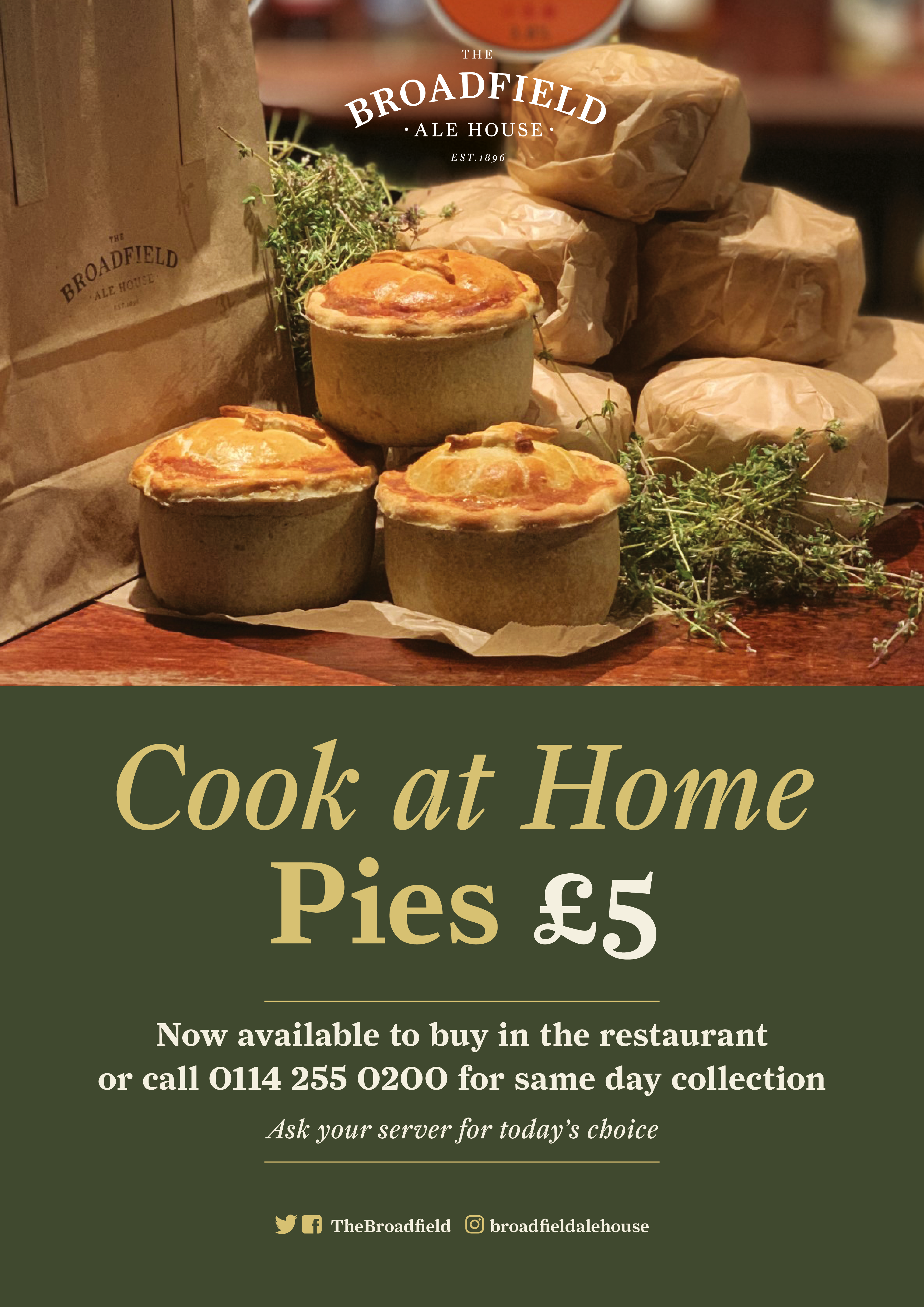 The Broadfield's Cook at Home Pies