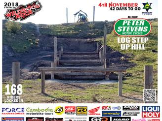 All New Peter Stevens Log Step Up Hill