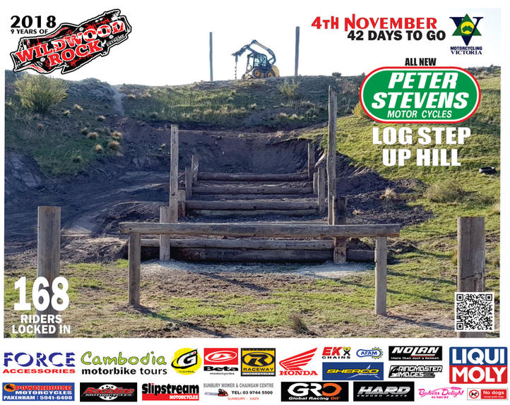 42 Days to go Wildwood Riders Entered 20
