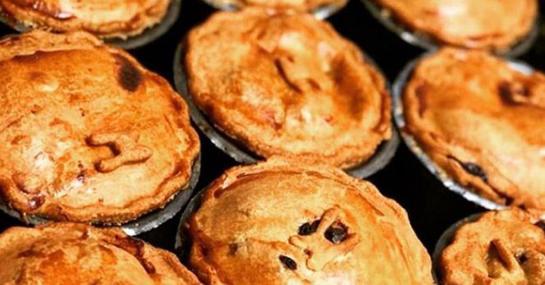 A photo of The Broadfield's pie.