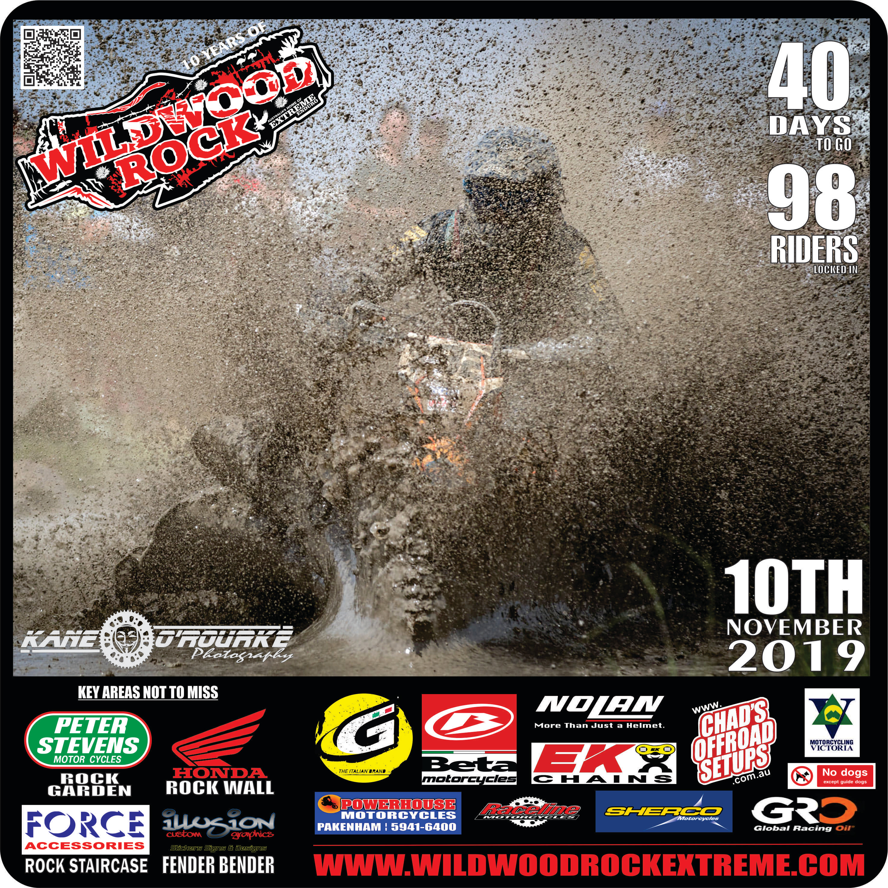 98 Riders in WWR19 - 40 DAYS