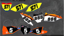 Illusion Custom Graphics Offer Event Riders Complete Numbers for $50.
