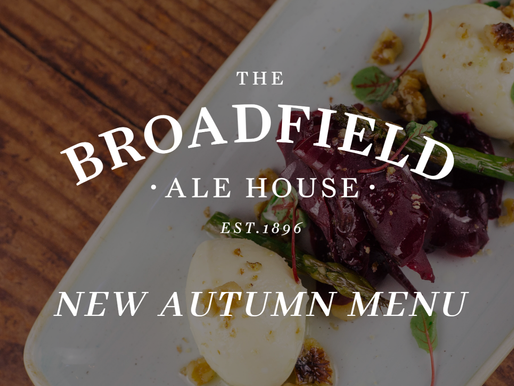 Our new Autumn Menu launches this Thursday
