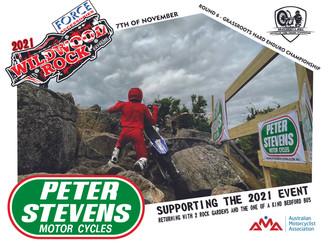 Peter Stevens Motorcycles Support Wildwood 2021 - Locking in 2 Rock Gardens