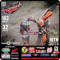 103 Riders in WWR19 - 32 DAYS