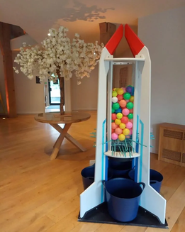 rocket launch Giant Games  Hire Wedding West Midlands