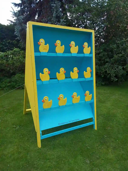 duck shoot on grass Giant Games  Hire Birmingham